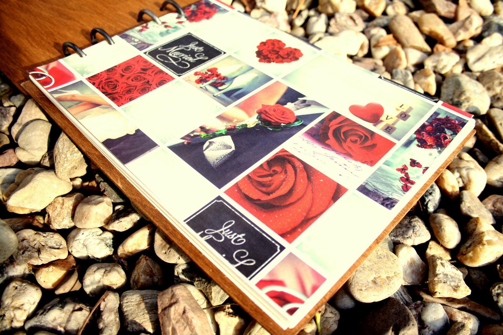Svatební kniha hostů / svatební fotoalbum  - Obrázek č. 1