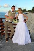 Svadobné šaty značky Anette Moretti, 36