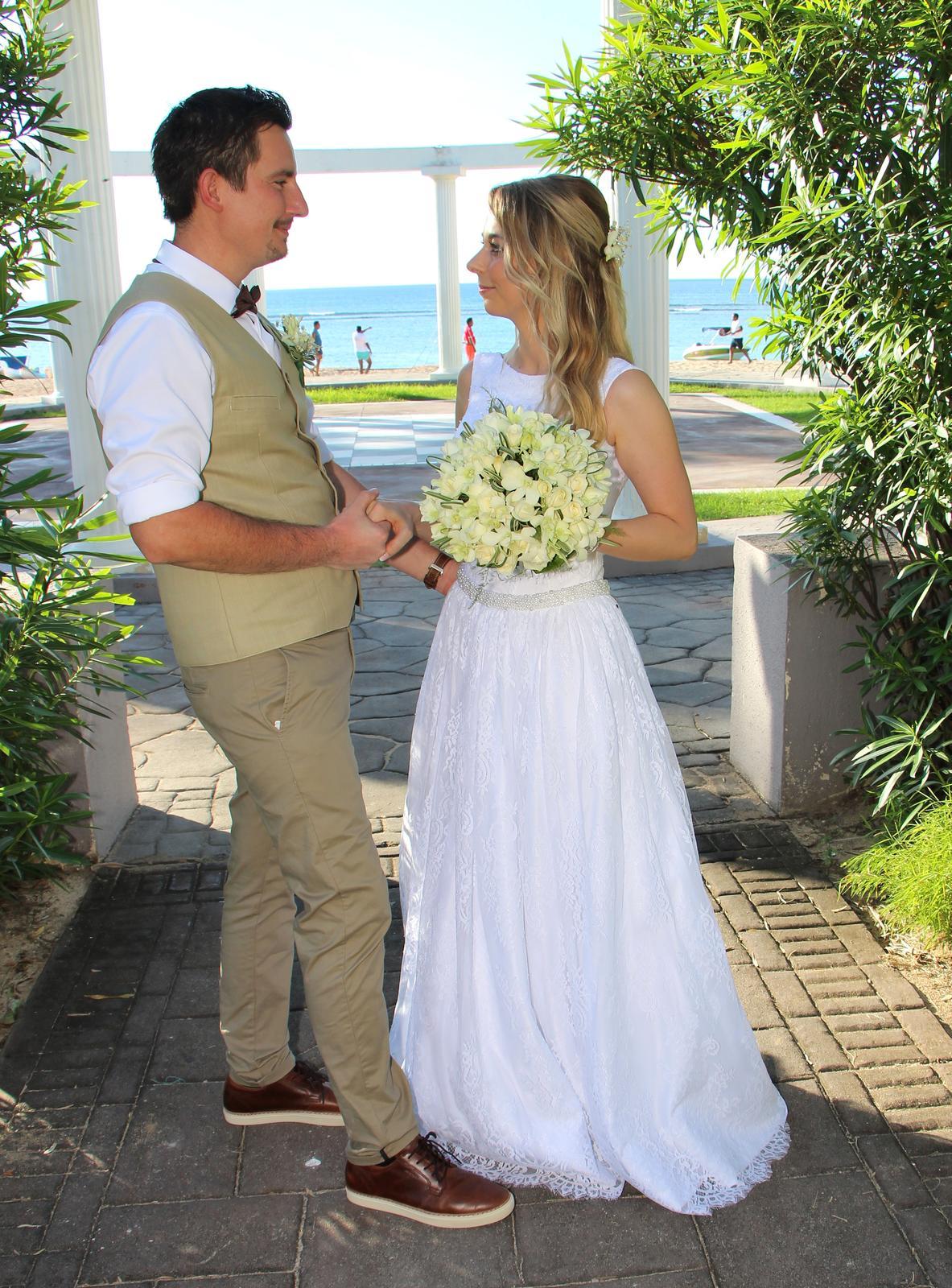 Svadobné šaty značky Anette Moretti - Obrázok č. 3