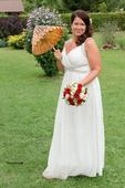 Svatební šaty řeckého stylu, dovoz Austrálie, 42