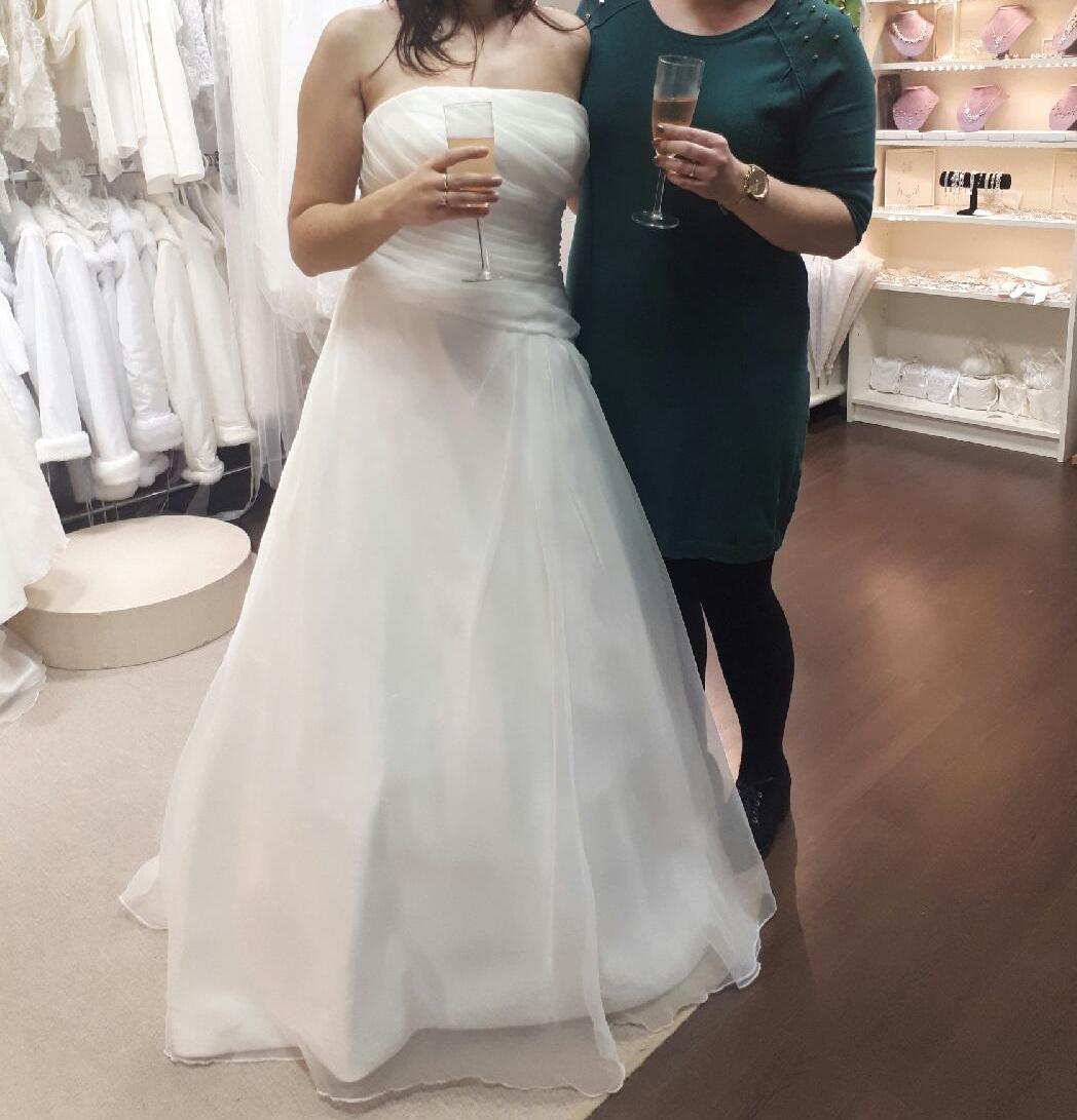 Ivory svadobné šaty - Obrázok č. 3