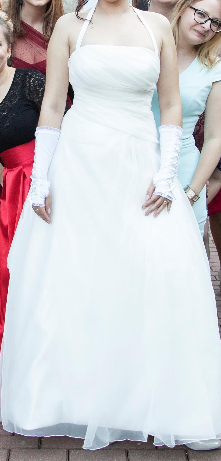 Ivory svadobné šaty - Obrázok č. 1