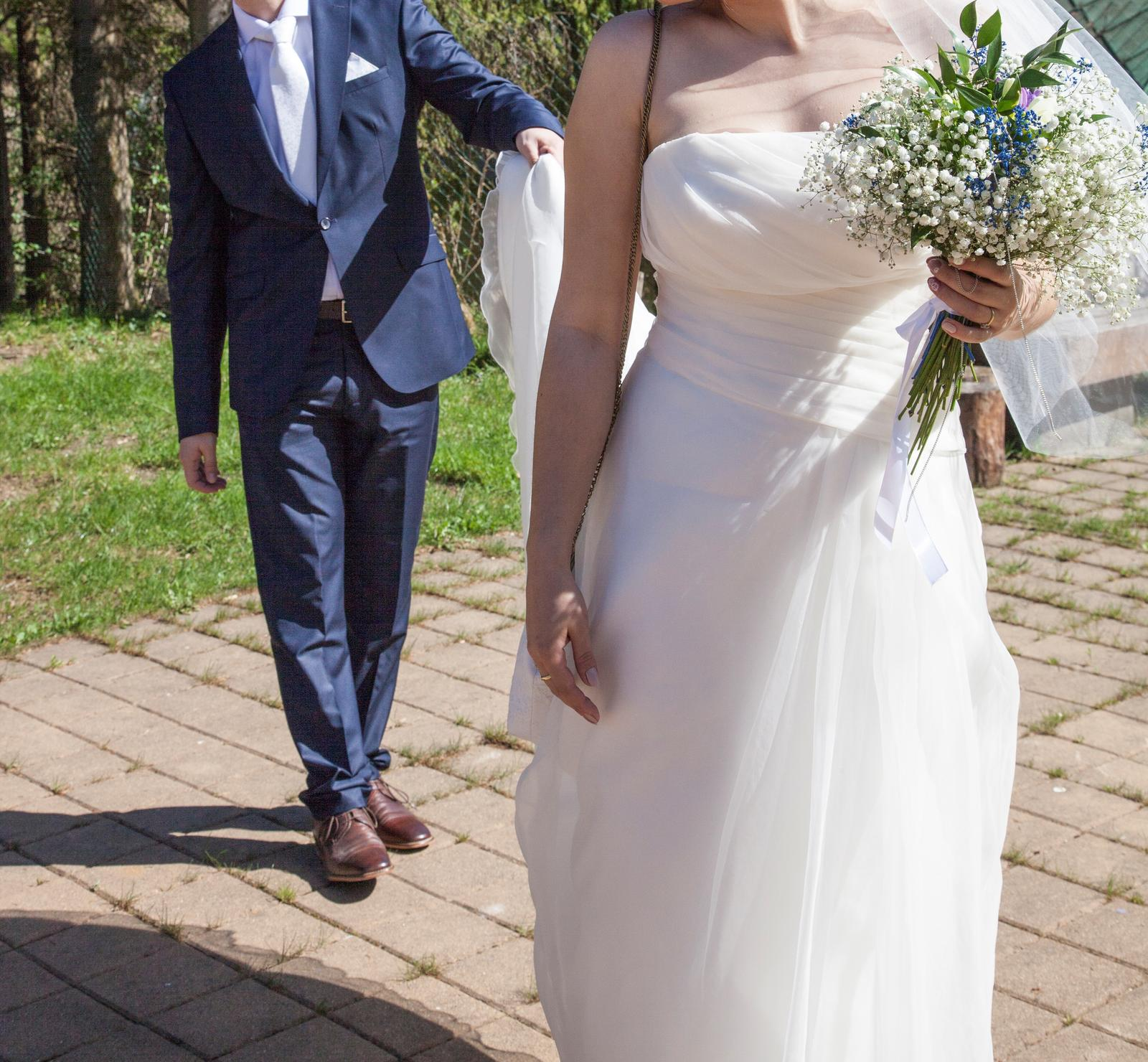 Ivory svadobné šaty - Obrázok č. 2