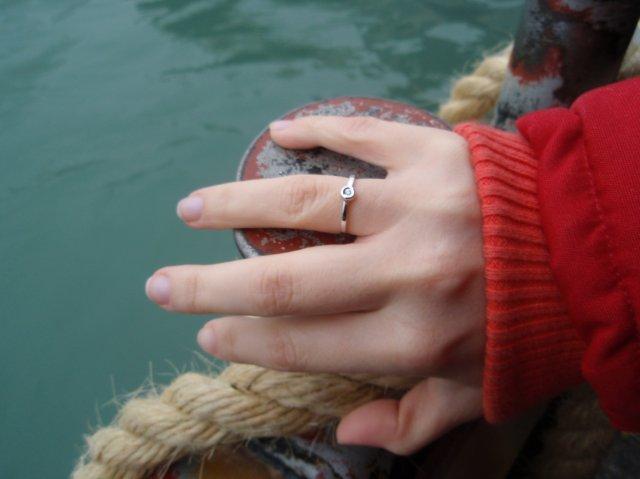 Můj prstýnek s briliantíkem