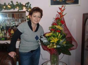 Zásnubní kytička od Luboška pro mojí maminku