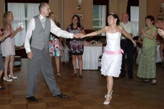 Další sólo ženicha a nevěsty.