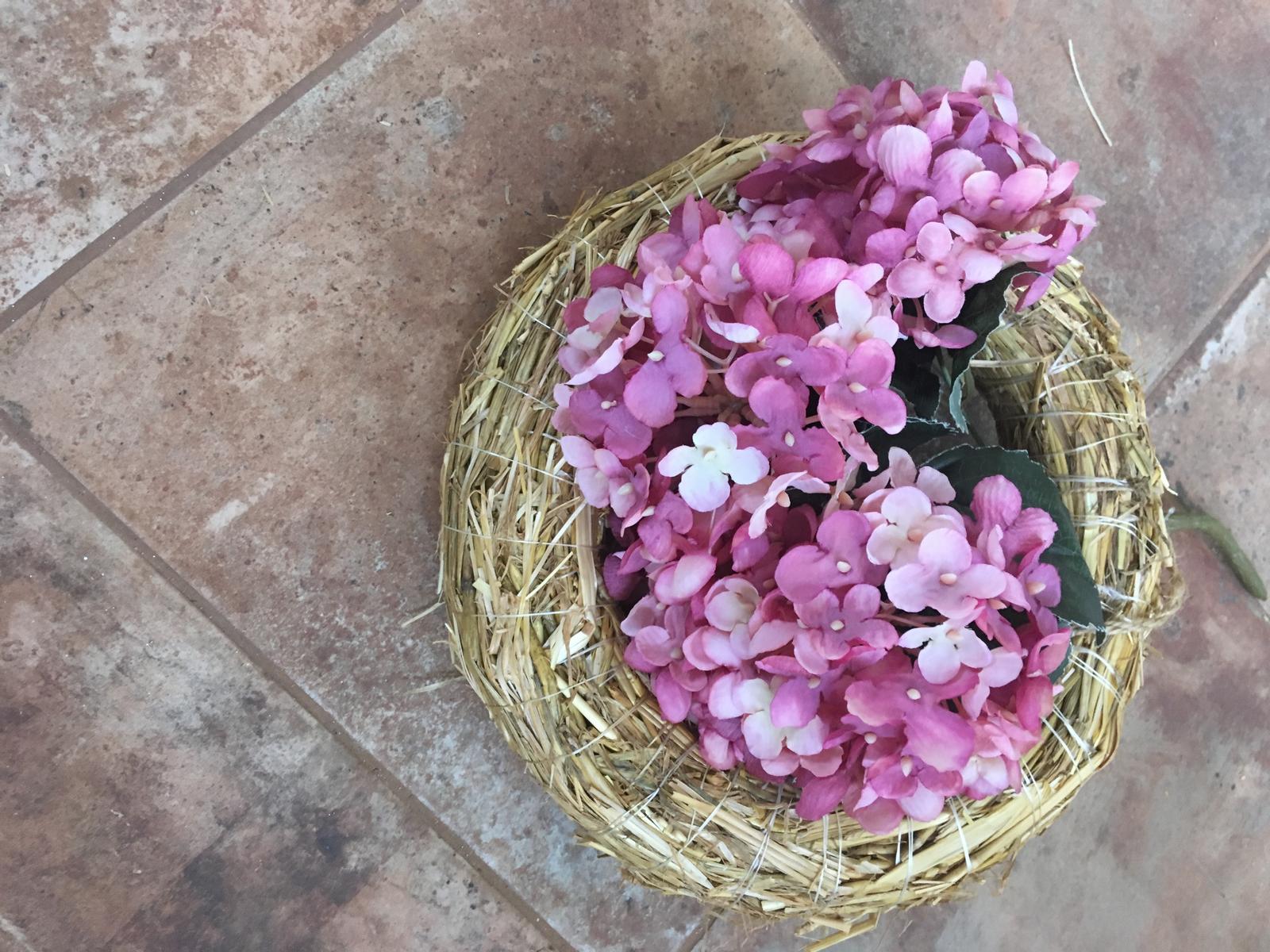 Věneček s kytičkou na auto - Obrázek č. 1