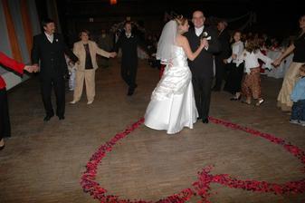 prvý manželský tanec....