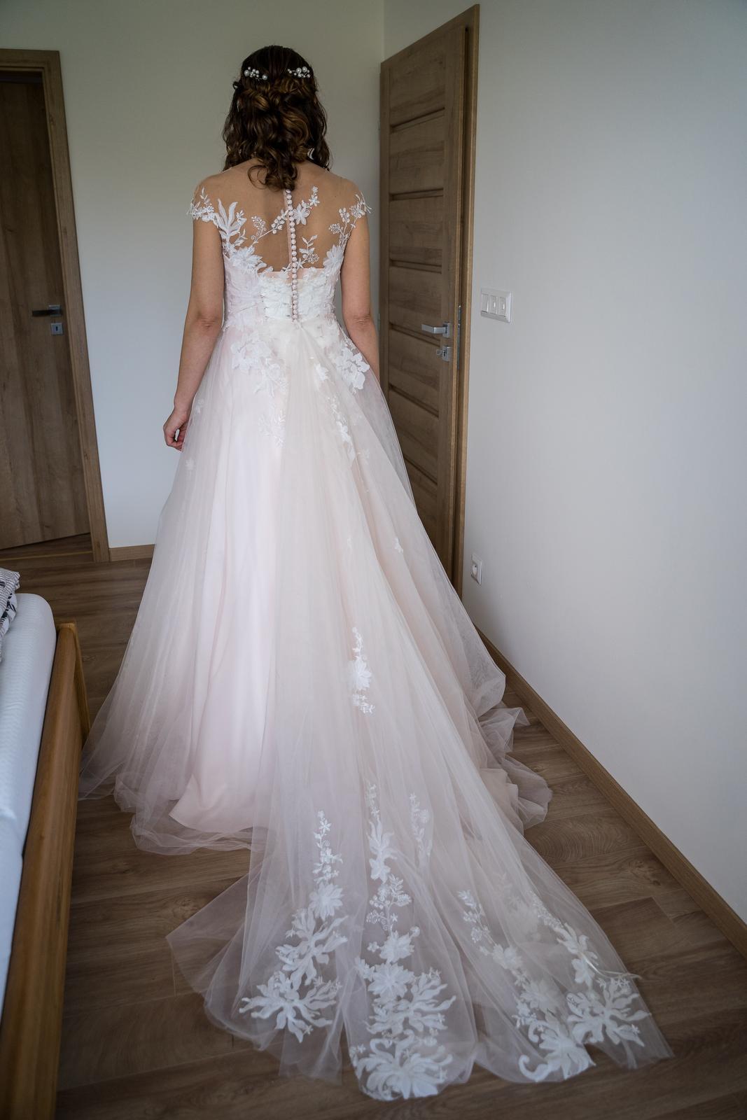 Svadobné šaty Candy  - Obrázok č. 4