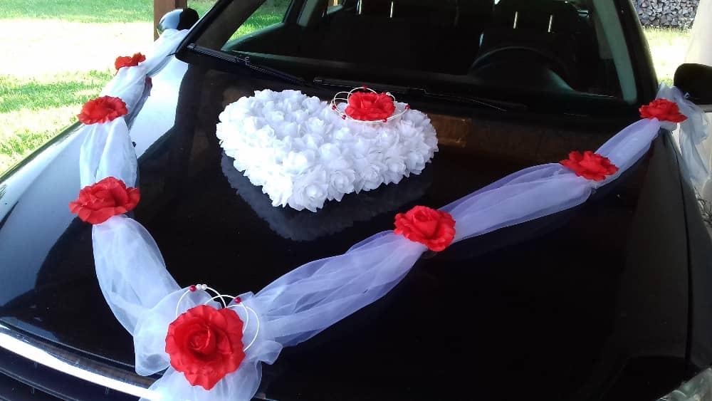 Dekorace na auta - ženich + nevěsta - Obrázek č. 1