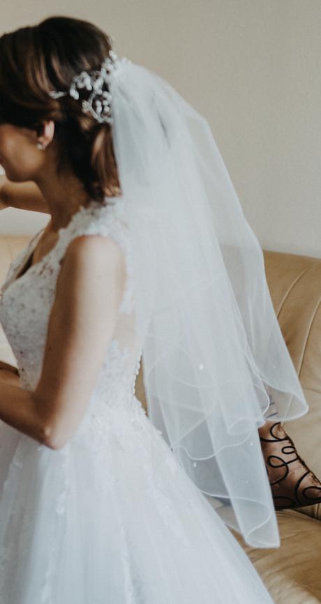 Moderný svadobný závoj - Obrázok č. 1