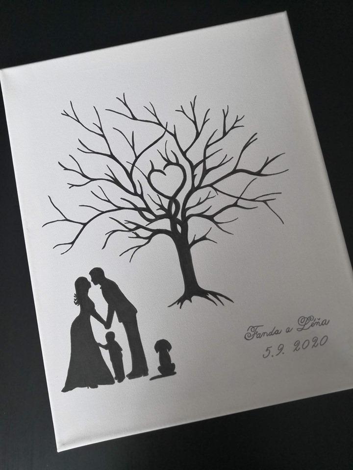 svatební plátna - Obrázek č. 1