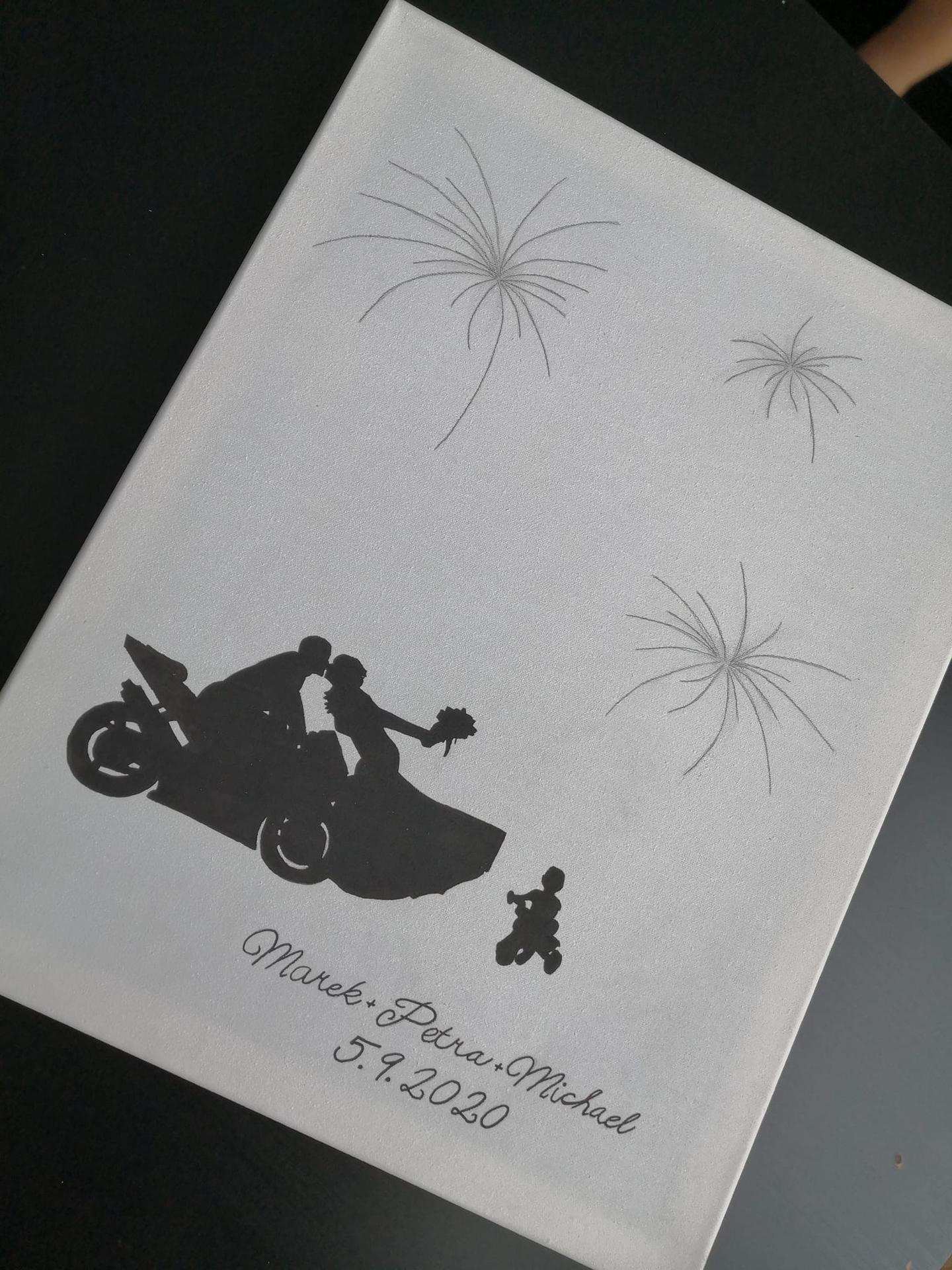 svatební plátna - Obrázek č. 2