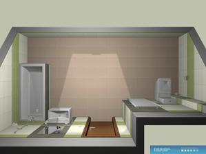 v navrhu je jina dlazba a jine a jinak umistene WC