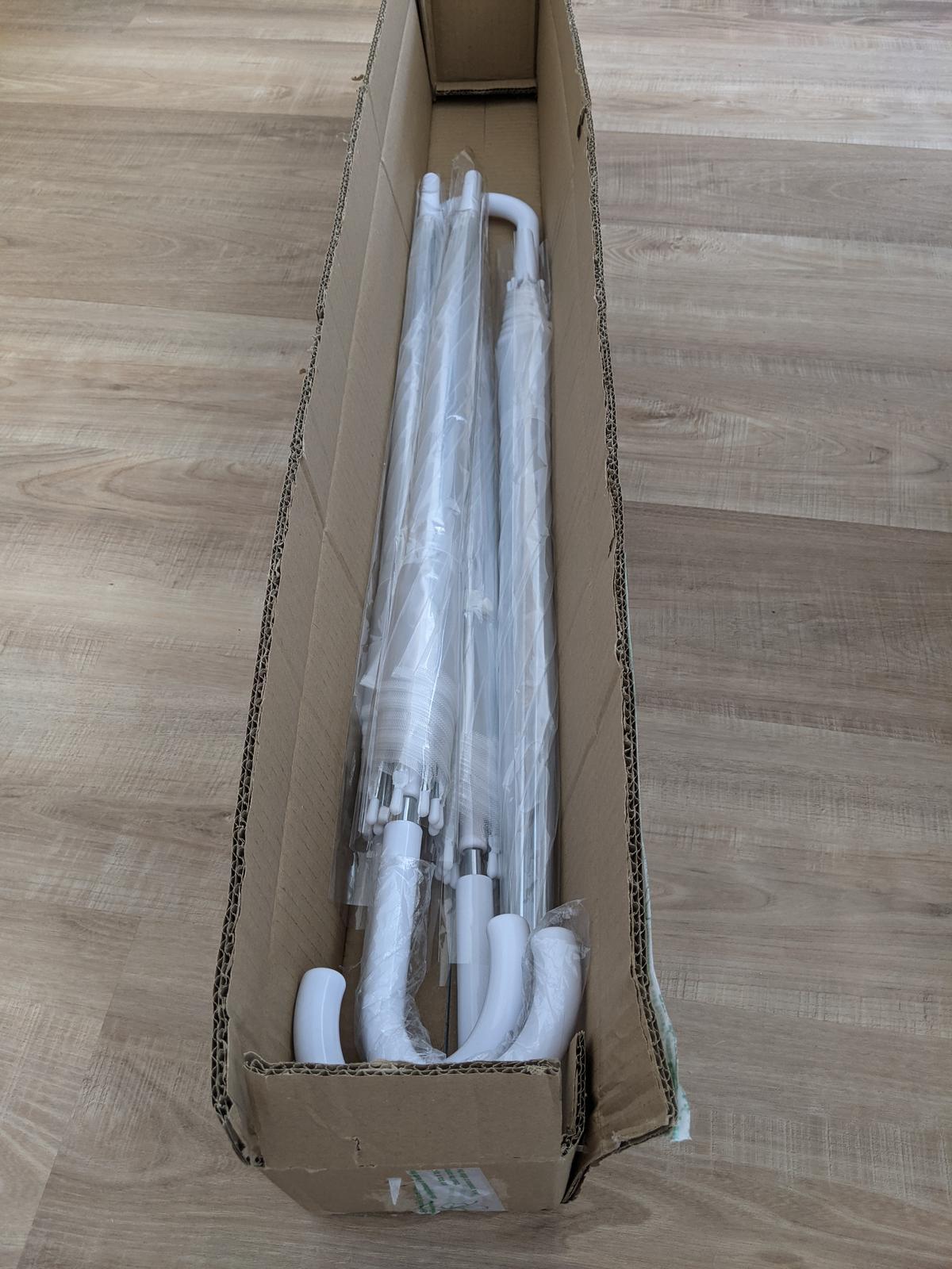 Průsvitné deštníky - Obrázek č. 1