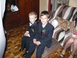 můj syn a bratr jako princátka