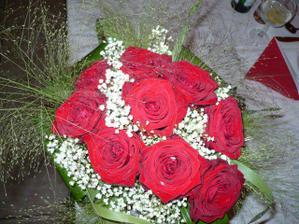 moje kytice,chytila družička