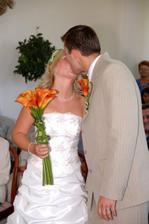 náš první novomanželský - někteří si stěžovali, že byl příliš dlouhý :-), co už :-)
