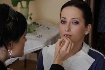 Svadobný make-up