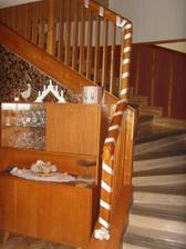 svadobne vyzdobene schodisko