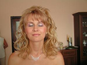 môj svadobný make-up