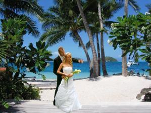 svadba na Bora-Bora