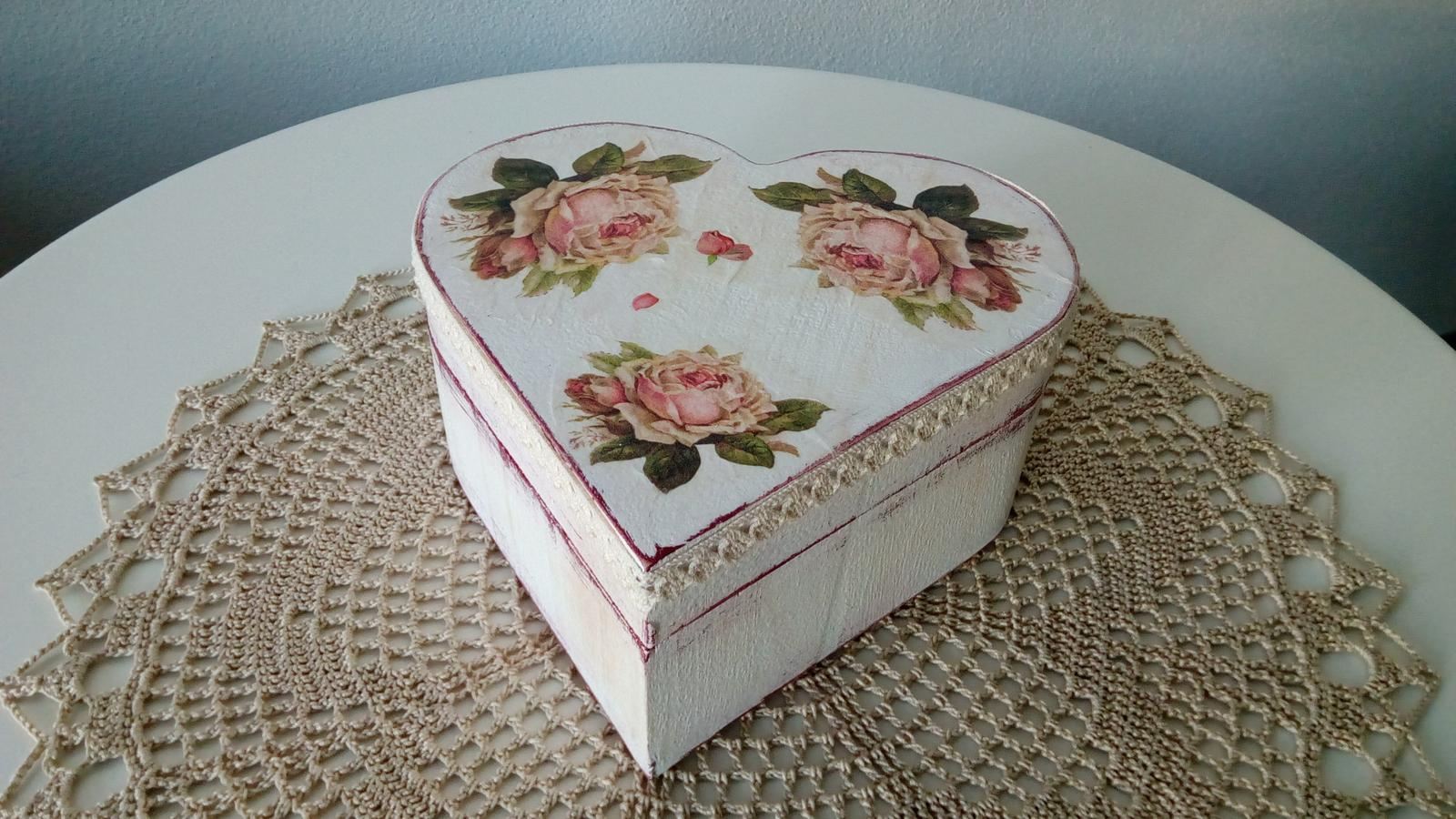 Handmade krabicka velka - Obrázok č. 1
