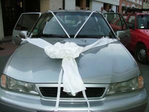 svadobné autíčko až z LM
