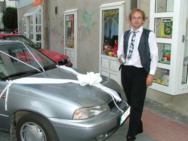 Evka{{_AND_}}Mirek - kameraman a šofér v jednej osobe :-) Janči