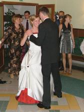 náš 1. mladomanželský tanec