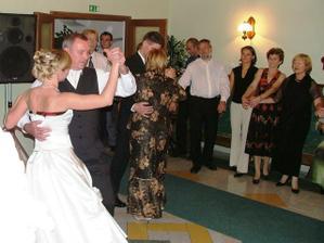 tanec s rodičmi