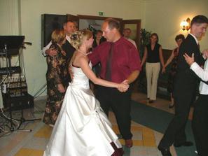tanec s Maťkom a Sylvinkou