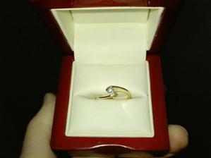 môj druhý zásnubný prstienok