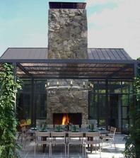 vonkajsie posedenie ne terase a krb, pripade velky gril
