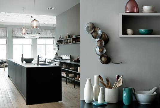Drevo a biela v kuchyni - Obrázok č. 10