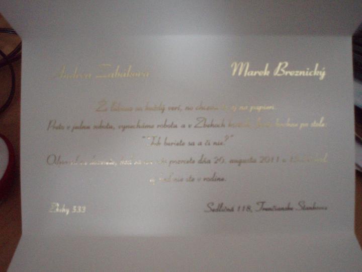 A&M 20.8.2011 - text na oznámení