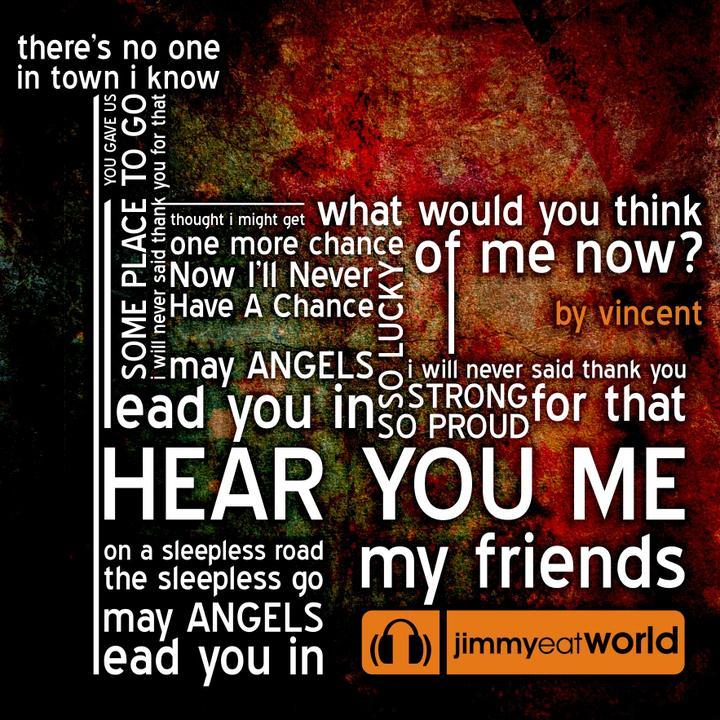 Hudba na prvý svadobný tanec - Jimmy Eat World - Hear You Me