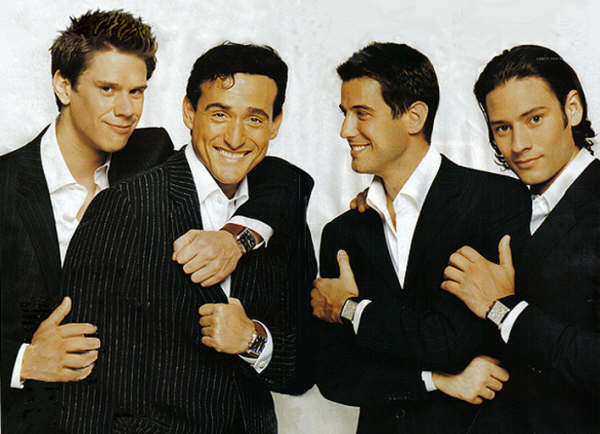 Il Divo - Everytime I look at you, I can´t help falling in love, I will always love you, My heart will go on, Pour Que Tu M'aimes Encore, The Man You Love, Regresa mi, Senza Catene, Without you, Por ti seré