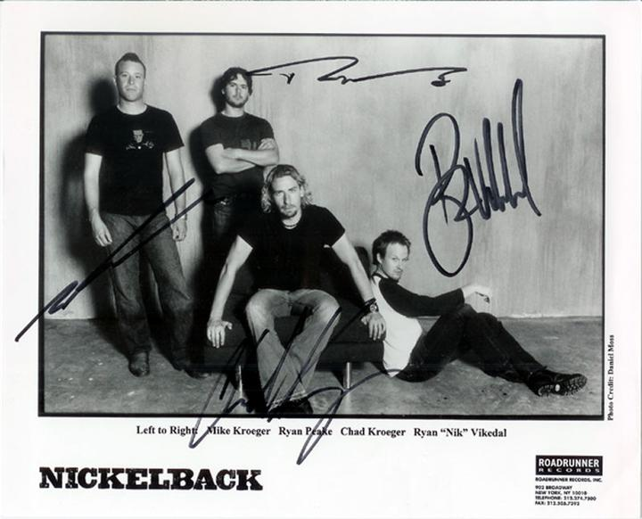 Nickelback - Far away, Never Gonna Be Alone, Don't Ever Let It End