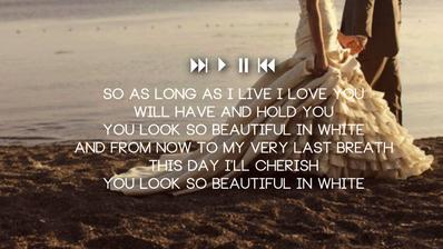 Westlife - Beautiful in White