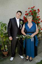 Alešek s maminkou