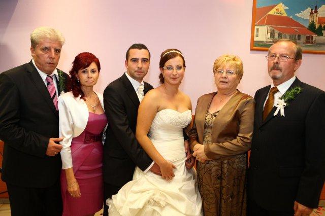 Mária Silná{{_AND_}}Peter Silný - s rodičmi