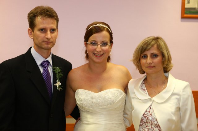 Mária Silná{{_AND_}}Peter Silný - s bratom a sestrou