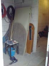 chodba /pohlad z vonku/, napravo spodna toaleta :-)