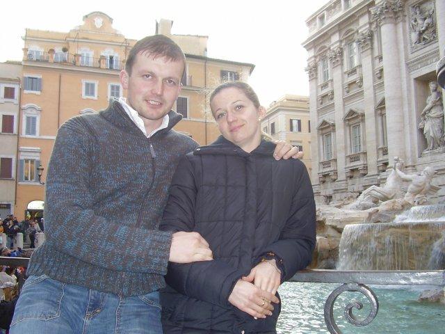 A+P - pri fontáne di Trévi som dostala zásnubný prstienok.