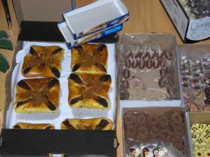 koláče a cukroví