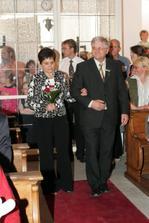 tatínek ženicha s maminkou nevěsty