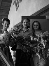 zbieračky kvetov:)