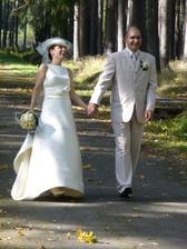 vysmátá nevěsta :-)