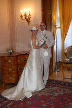 novomanželé v plné kráse :-)